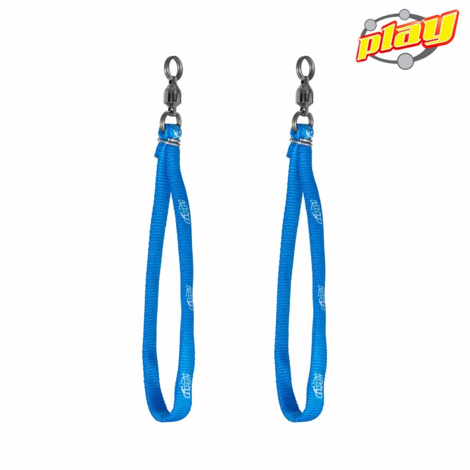 PAIR OF PLAY CORD LOOP HANDLE FOR POI