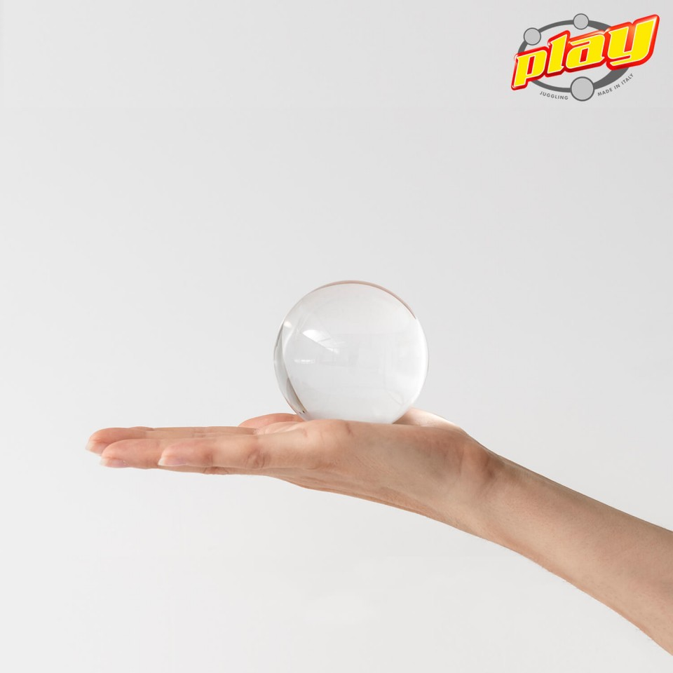 ULTRA CLEAR CONTACT ACRYLIC BALLS MADE IN ITALY - TOP QUALITY